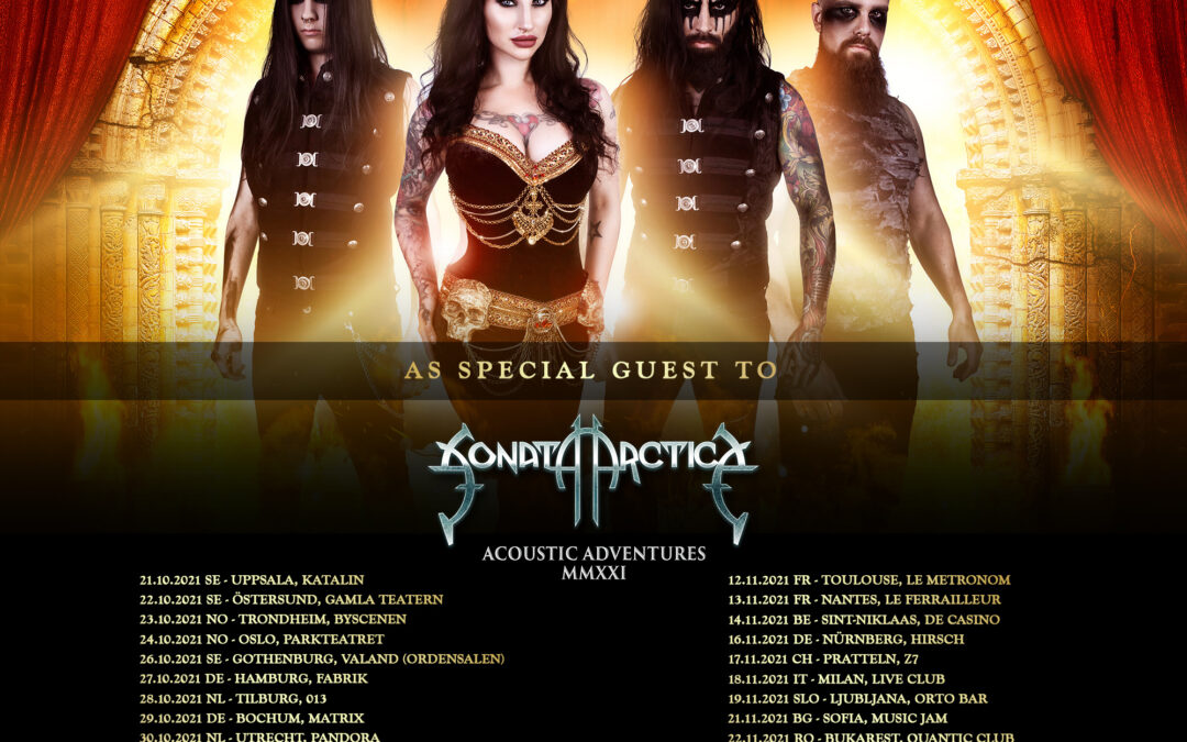 Eleine to tour with Sonata Arctica
